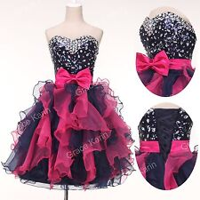 PLUS SIZE Prom Tutu Quinceanera Gown Short Homecoming Party Evening Petite Dress