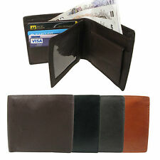 Mens Genuine Real Leather Wallet With Credit Card/Photo Holder/Coin Pouch 859
