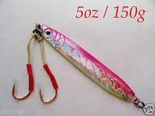 Knife Jigs 5.25oz/150g Pink Vertical Butterfly Fishing Lures - chose Pieces