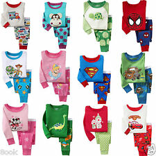 41 Styles of Sleepwear Pajama Sets for Baby Toddler Kids Boys Girls / Size 1T~6T