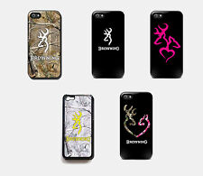 New Browning Realtree Deer Camo Case Phone Cover Apple iPhone 4 4s 5 5s 5c 6