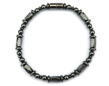 Men's Women's 100% Magnetic Bracelet Anklet SUPER STRONG 1-2-3 row QUICK SHIP
