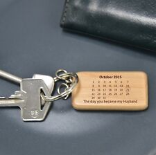 PERSONALISED 60735 KEYRING BIRTHDAY CHRISTMAS FATHERS DAY VALENTINES DAY PRESENT