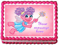 ABBY CADABBY Image Edible Cake topper Decoration