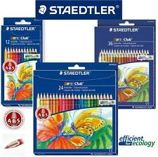 Staedtler Noris Club Color Pencils Art/draw/sketch - Select 12-24-36 colour Pack