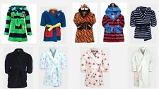 Ex Chain Store Childrens Fleece Robe  Dressing Gown Super Soft  BRAND NEW