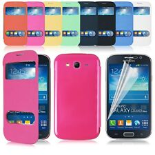For Samsung Galaxy Grand Neo I9060 DUOS i9082 Leather Battery Housing Cover Case