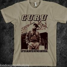 hip hop, Guru t shirt, gangstarr, wutang clan, method man, rap, nas, dj premier