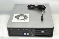BUSINESS LINE HP SFF DESKTOP DC7900 FAST CORE 2 DUO 8500 3.16GHZ PC 4GB RAM 500G