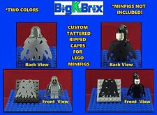 CAPE Custom TATTERED Ripped Cape for LEGO MINIFIGURES Minifig YOU GET 3 fo PRICE