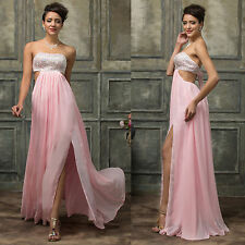 SALE FOR Valentine~Sexy Long Evening Formal Prom Bridesmaid Party Gown Dresses