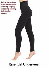 HIGH WAISTED BUM & TUM SHAPING LEGGINGS  EXTRA STRONG FIRM TUMMY SUPPORT,S -XXX