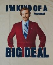 I'm Kind of a BIG DEAL Anchorman Legend of Ron Burgundy T-Shirt Adult Tee
