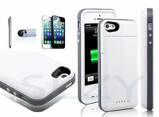 2500mAh External Battery Sezy® Charging Power Case Cover For Apple iPhone 5 5S