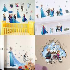1x DIY Cartoon Frozen Removable Wall Sticker Vinyl Mural Decal Home Decor