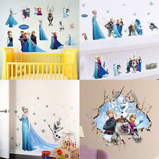 1xElsa Anna Frozen Wall Stickers Decal DIY Mural Removable Home Decor Child Room