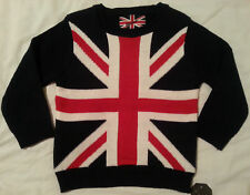 Boys Union Jack Navy Jumper Primark Age Various Sizes Years 3 - 12 years