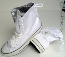 CONVERSE WOMENS TRAINERS SHOES, CT SLOUCHY HI TEXTILE UK 7 to 7.5 WHITE