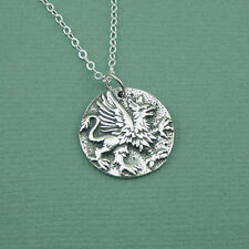 Sterling Silver Griffin Necklace - 925 sterling silver griffin dorf harry potter