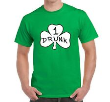 St Patricks Day Shamrock Drunk # 1 2 pattys Day pub bar crawl tee shirt tshirt