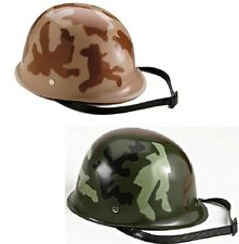 KID'S PLASTIC WWII MILITARY REPLICA ARMY HELMET 395 595