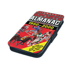 sports almanec back to the future flip case wallet fits iphone samsung