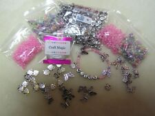 Children Jewellery Making Kit Complete Alphabet Set Personalised Charm Bracelets