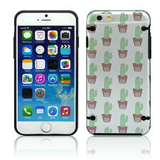 NEW STYLE! Apple iPhone 4 4S 5 5S 5C 6 Durable Slim Case Cover Cactus Cute Hug