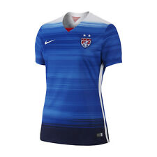 Nike United States USA World Cup WC 2015 WOMEN Away Soccer Jersey New Blue