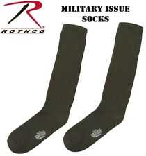Military Issue Cushion Sole Boot Socks Antimicrobial Anti-Odor MADE U.S.A 6419