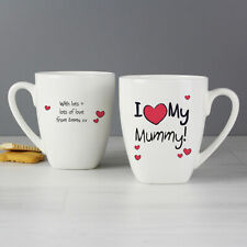 Lovely Personalised Mug - Perfect Mummy Mum Grandma Granny Auntie Gift Idea