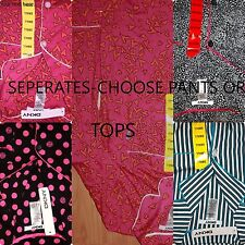 *NWT* DKNY Womens Mix or Match Pajama Cotton-Separates-Choose Pant and/or Shirt