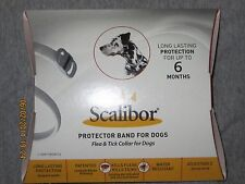 SCALIBOR Flea & Tick Collar For Dogs adjustable Size. 6 months of protection NIP