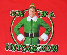 Son of a Nutcracker! Adult Christmas T-Shirt ELF MOVIE Tee Officially Licensed