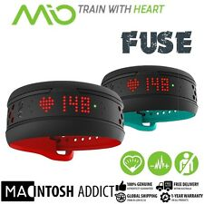 MIO Fuse Strapless Heart Rate Monitor + Activity Tracker | Bluetooth 4 App Sync