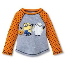 Despicable Me Minion Ghost Halloween T-Shirt Infant Toddler 12M 18M 2T 3T 4T 5T
