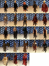 "DR WHO DOCTORS ALIENS MONSTERS NEW SERIES 1 2 3 & 4 5"" FIGURES COLLECTION LOT"