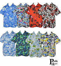 Mens/Hawaiian Summer Shirt/Floral Beach Party Top/Stag Party/Fancy Dress/£2.99*