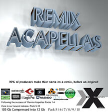 NEW Remix Acapellas Cubase Ableton Reason Acid Bitwig Logic Pro Tools Wav Sample
