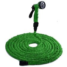 EXPANDABLE FLEXIBLE Garden Hose Pipe with Multifunction Spray Gun Nozzle