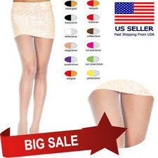 Classic Fishnet Dance Glitter Sparkle Spandex Lurex Pantyhose Shimmer Tights Set