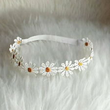 1 - DAISY HIPPIE HALO HEADBAND HANDMADE MADE IN USA YOU PICK SIZE FREE SHIP USA