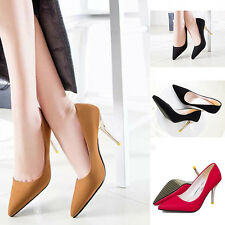 2015 NEW Euro Sexy Woman High Heels Pointed Toe Shallow mouth Stilettos Shoes