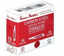 Genuine Swann Morton Sterile Red Box Scalpel Blades Surgical Blades CE Mrkd New
