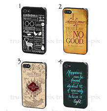 Harry Potter Quote Quotes Map Vintage Phone Case Cover for iPhone