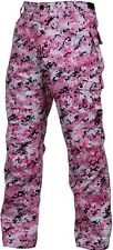 H.W.Pink Digital Camouflage Military BDU Cargo Bottoms Fatigue Pants 99650