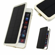 4200mAh Solar Power Bank Backup External Charger Cover Case Pack for iPhone 6 6+