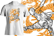 MISC Apparel | Nuovo 100% COTONE Bruce Lee Dragon KICK KARATE yin yang zen T-SHIRT