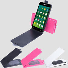 Flip Shell Cover Leather Case Skin Hot For 5inch Philips I908 3G Smartphone