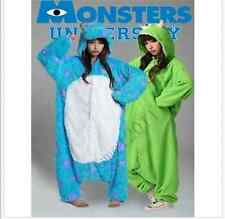 Adult Monsters/University Mike Wazowski & sulley Monsters Costume/Pajamas Onesie